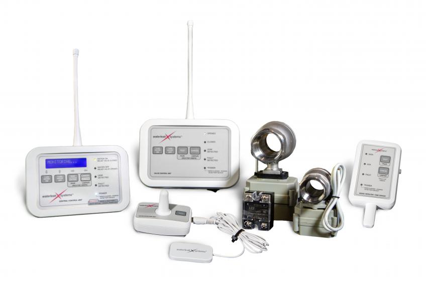 WaterleakXSystems has launched a new system that detects water leaks in a house, sends alerts to the homeowner, and turns the water off at the source.