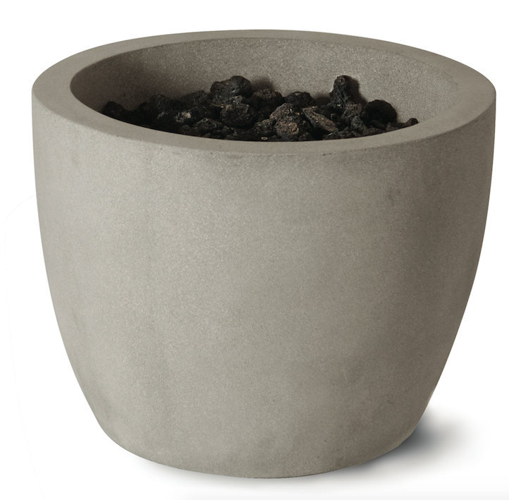 New additions to the Artisan line of fire bowls include six designs with subtle variations in color and texture. Offering a natural limestone appearance, the bowls come in four color options—black sand, oak barrel, aged teak, and oyster shell—in either honed or travertine finishes.