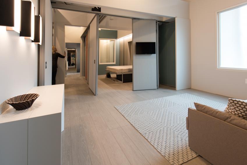 Making Room modular walls