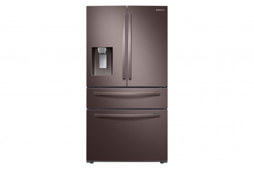 Samsung fridge in tuscan stainless