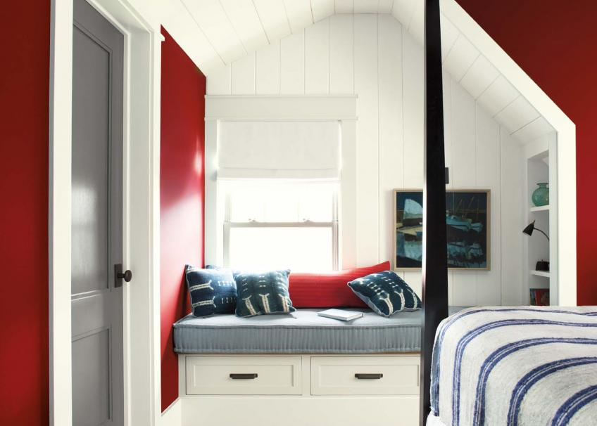 Benjamin moore dominates JD power paint survey, color of the year caliente