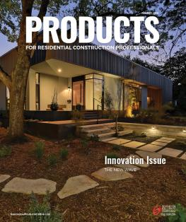 PRODUCTS cover Winter 2019