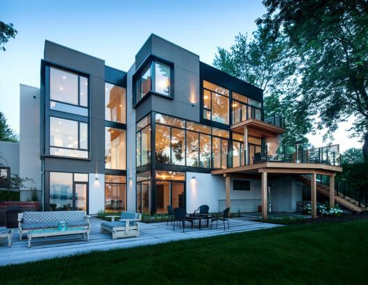 Kolbe windows in Ottawa home