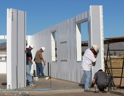 HercuWall Panelized concrete structure