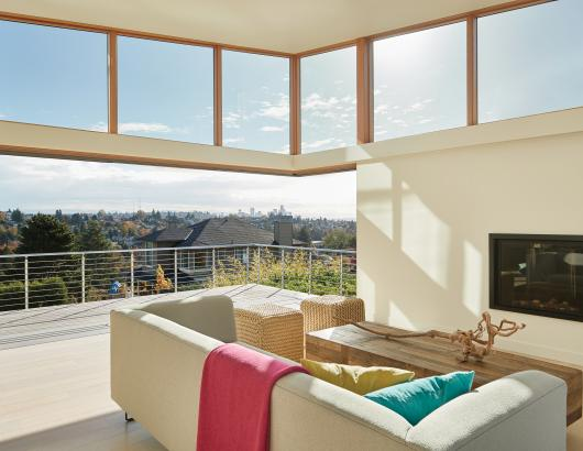Kolbe windows in a Seattle remodel by Janof Architecture