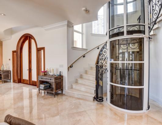 Pneumatic Vacuum Residential Elevator
