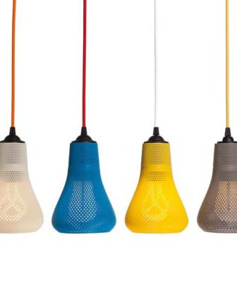 Pluman Kayan 3D-printed lights