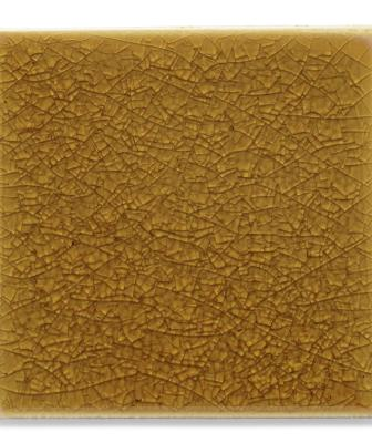Ann Sacks KohlerWasteLab Recycled Content Ceramic Tiles 4X4 Field tile Amber 1