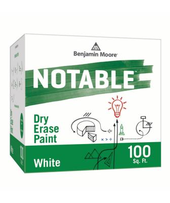 Benjamin Moore Notable dry erase paint