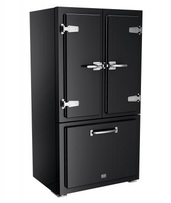 Big Chill Classic Fridge black chrome