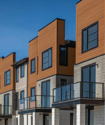 Cedar Renditions Design Series multifamily