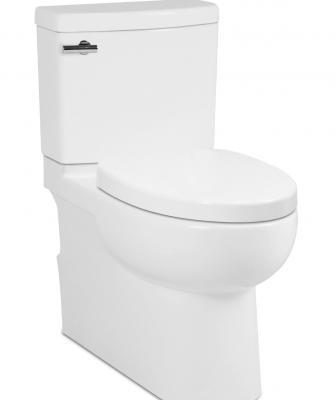ICERA Malibu II Backoutlet Toilet Angled