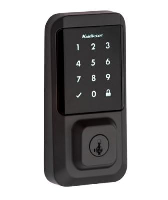 Kwikset Halo WiFi Smart Lock Iron Black Exterior 2