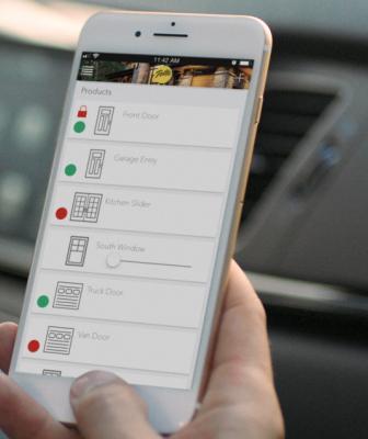 Pella Insynctive smartphone app