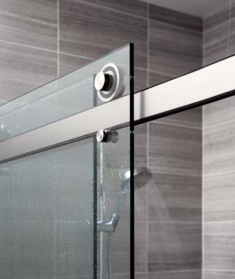 Architectural hardware manufacturer Krownlab debuted its first-ever sliding shower door system, called Rorik.