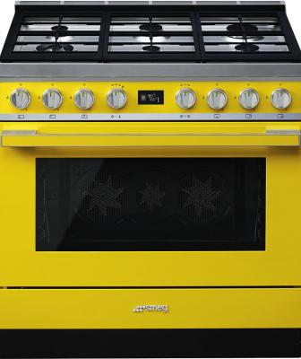 Smeg Portofino in Yellow