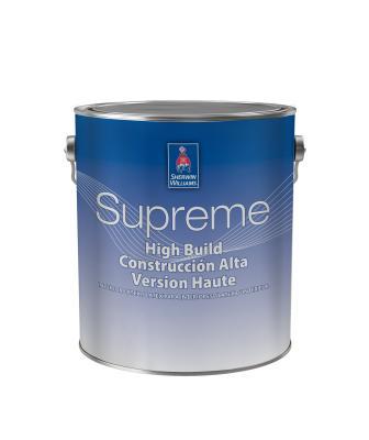 Sherwin-Williams Supreme High Build Interior Latex Paint
