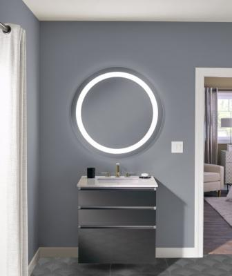 Robern has introduced a new line of lighted mirrors with a broad range of options and price points.