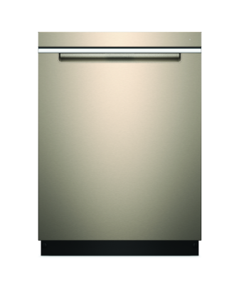 Whirlpool smart dishwasher in sunset bronze