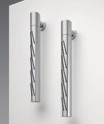 Zazzeri Z316 stainless steel collection vertical showerhead