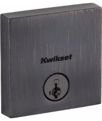 Part of a new collection of products, the Downtown deadbolt has a slim, low profile and SmartKey technology to prevent lock-picking. It has a ½-inch projection from the door, carries an ANSI Grade 1 rating, and comes in a variety of finishes.