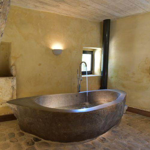 8 Vasque Stone Tub