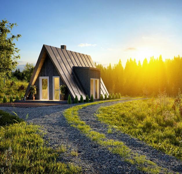 Avrame A-Frame Housing Kits Duo angled shot