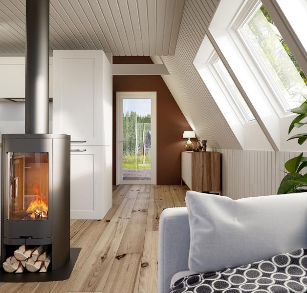 Avrame A-Frame Housing Kits Duo interior
