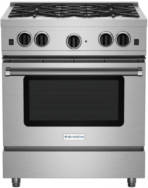 13 BlueStar Sealed Burner Series RCS30SBV2NG 30 inch Gas Range