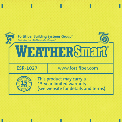5 Henry WeatherSmart housewrap yellow