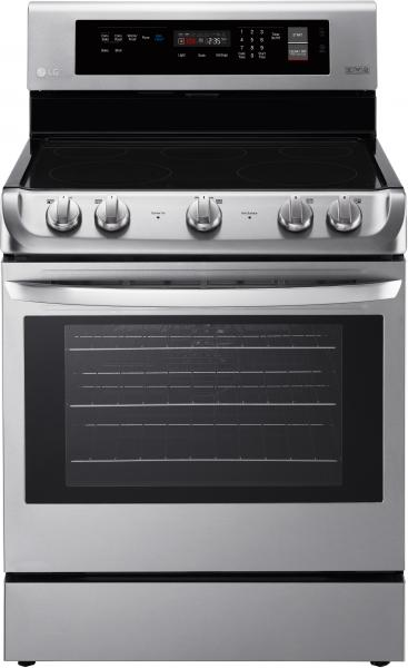 5 LG LRE4211ST 30 Inch Electric Range with ProBake Convection oven