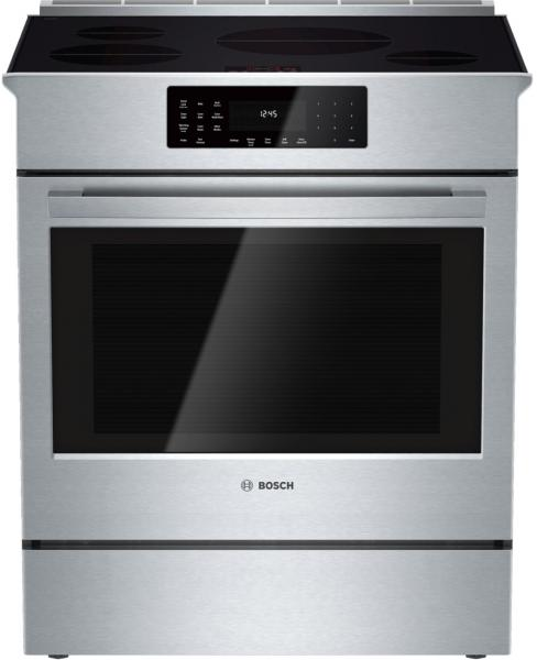 6 Bosch 800 DLX Series HII8055U Slide In Range Induction