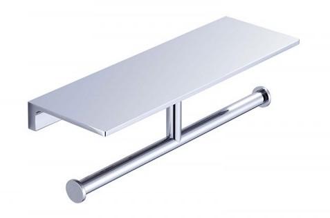 Dezi Home Simpliciti double paper holder shelf