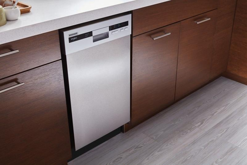 Whirlpool 18 inch Dishwasher with Stainless Steel Tub