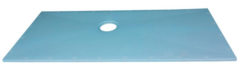 Arcfirst TruDeck Classic Curbless shower base TB7132 S top view KO 1