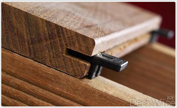 Deckwise Ipe Clip hidden fastener