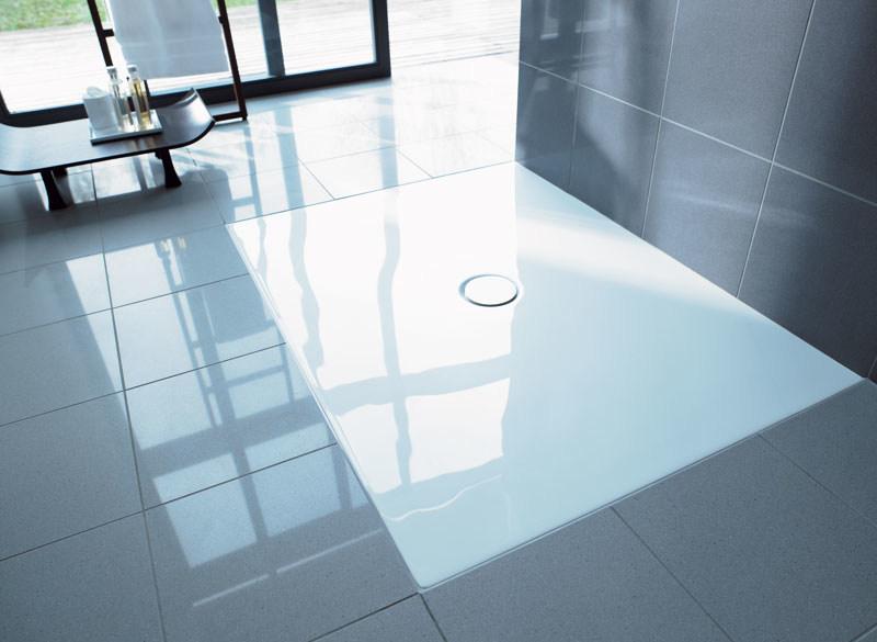 Duravit duraplan rectangular curbless shower tray