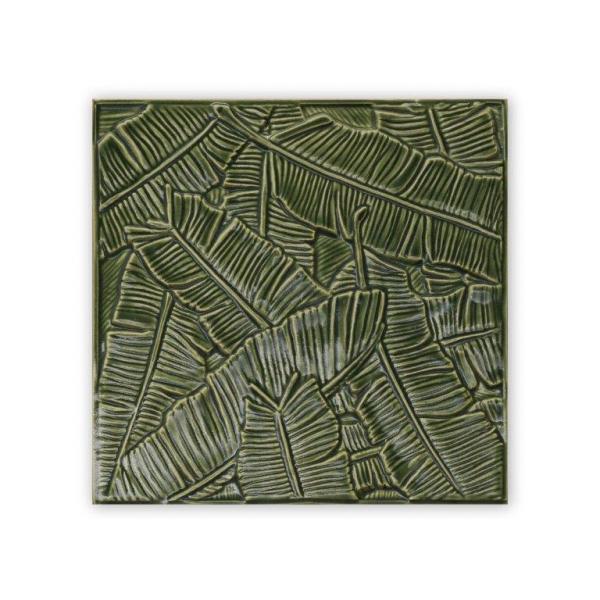 flash banana leaf tile in vert