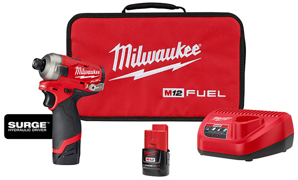 Milwaukee M12 driver and accessories