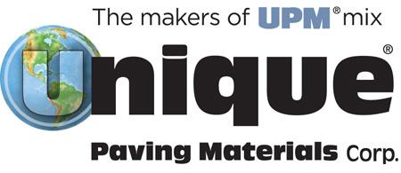 Unique Paving Materials Corp. logo