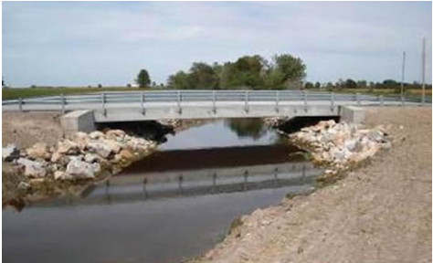 Audrain County Concrete Bridge 336