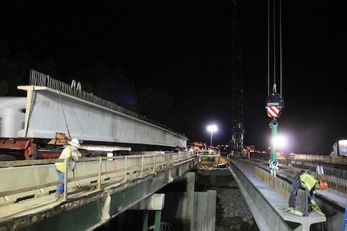 I-85 beams