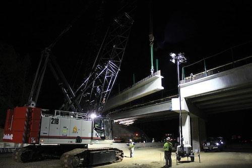 I-85 bridge overpass