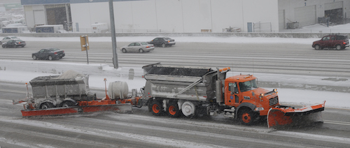 Utah DOT's Class 8 snowplow trucks effectively operate as emergency response vehicles