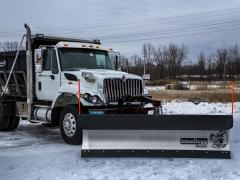 Municipal snow plows