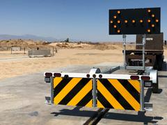 Gregory trailer truck mounted attenuator
