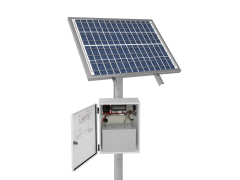 The solar power units to support construction cameras from OxBlue