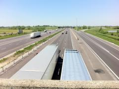 Storm-water treatment does not effect tight working windows on I-64/I-255 interchange in East St. Louis