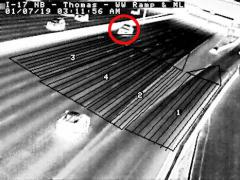 thermal camera detection system
