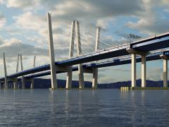 A rendering of the New NY Bridge